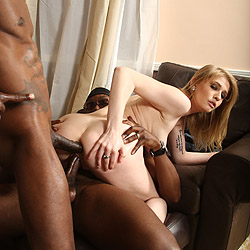 Allie James Blacks On Blondes